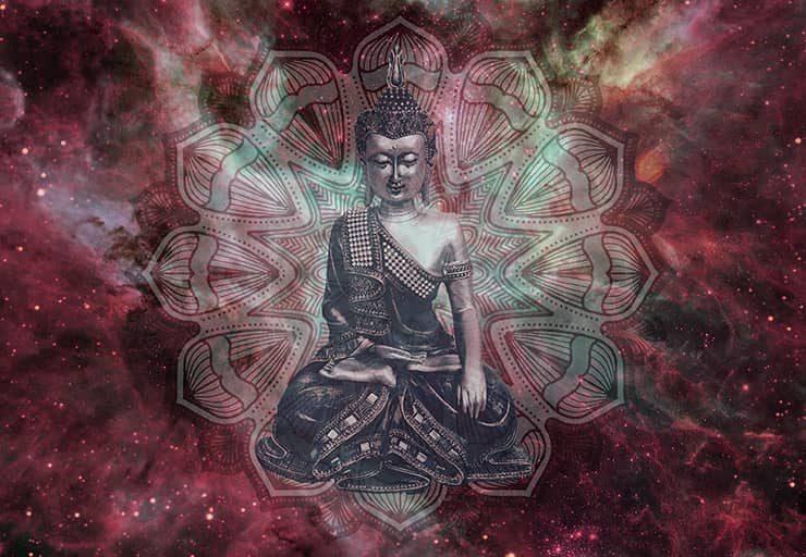 Innerer Frieden durch Buddha und buddhistische Meditationen