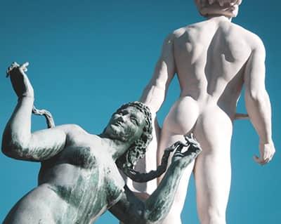 Die Prostatamassage bis zum Orgasmus - eine erotische Analmassage des Po